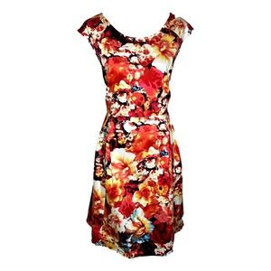 NWT Liz Claiborne Floral Dress Plus Size 16